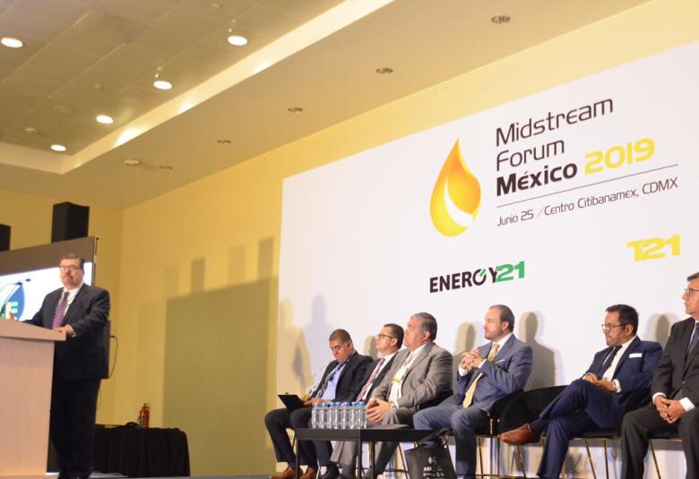 Inauguración Midstream Forum México.